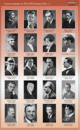 Recordings of historical pianists