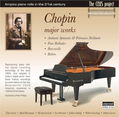 Chopin Major Works CD