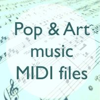Classical and Popular MIDI files